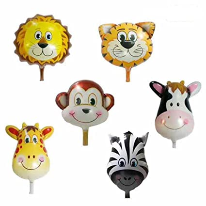 amazon com annodeel 6 pcs large animal balloons 20inch animal foil