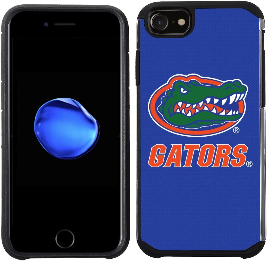 Prime Brands Group Textured Team Color Cell Phone Case for Apple iPhone 8/7/6S/6 - NCAA Licensed University of Florida Gators (NCAA-TX1-i8-FLG)