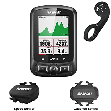 MLSice iGPSPORT - Computadora GPS para Bicicleta con Sensor ...