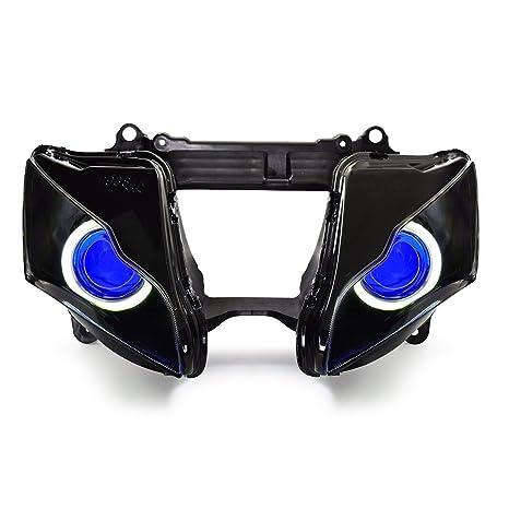 Amazon.com: KT Angel Eye LED faros delanteros de montaje ...