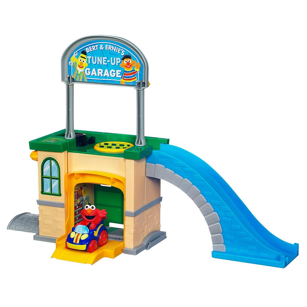 amazon com playskool sesame street come u0027n race bert and ernie u0027s