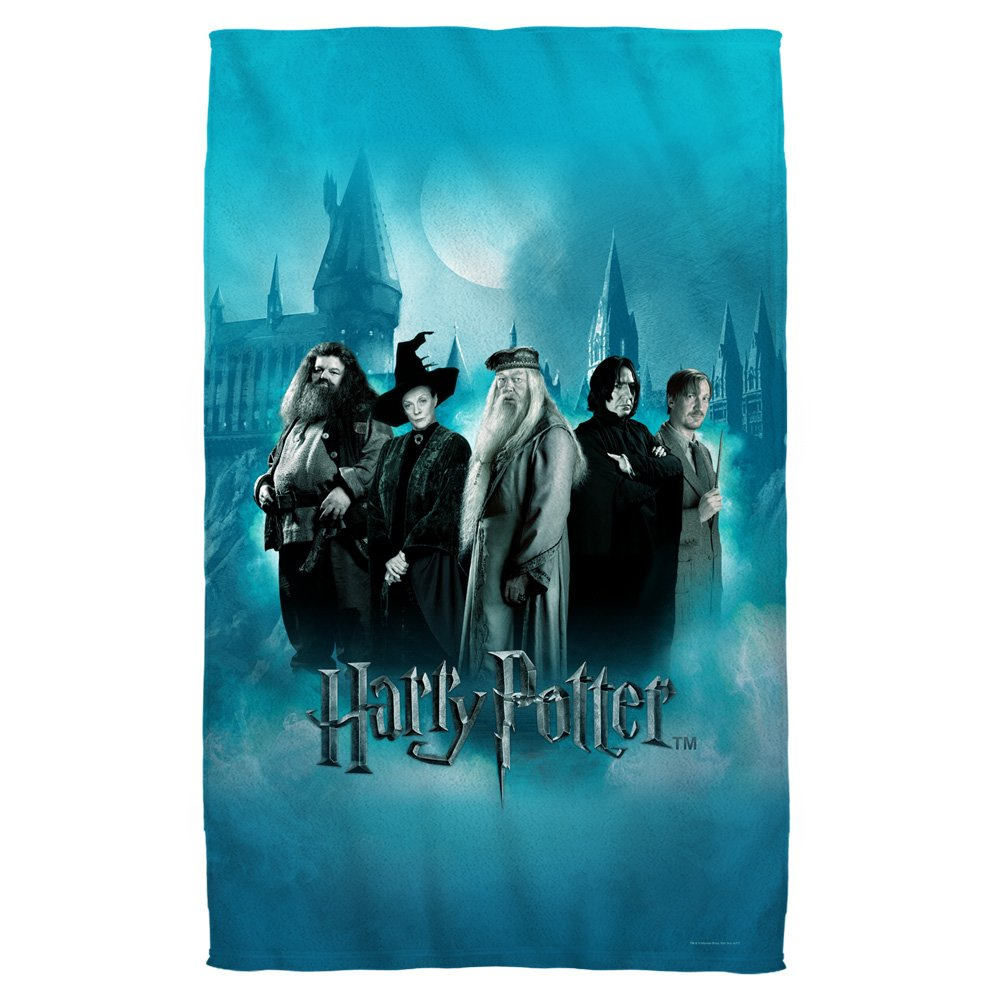 Hogwarts Teachers -- Harry Potter -- Bath Towel (27'' x 52'') by Harry Potter