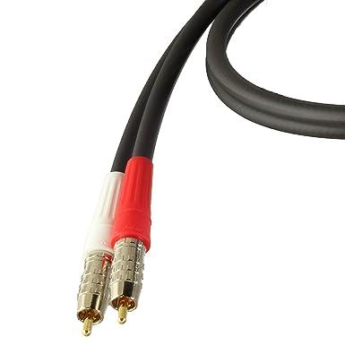 Blue Jeans Cable LC-1 Cables de Audio estéreo, 1m, Negro