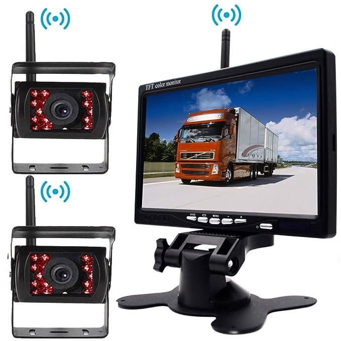 1 opinioni per Wireless Vehicle 2 x Parking System 18 Telecamera a infrarossi per visione