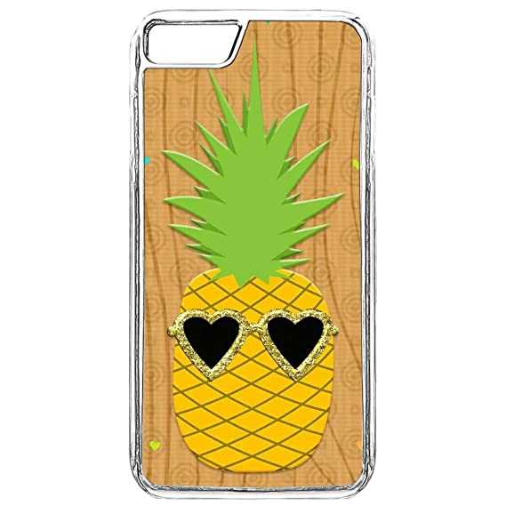 quality design 815d6 be373 Amazon.com: Phone Cover iPhone 7 Plus,iPhone 8 Plus Pineapple Cover ...