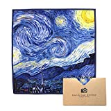 """EXTRA LARGE [6 Pack] Classic Art (Vincent Van Gogh """"Starry Night"""") - ULTRA PREMIUM QUALITY Microfiber Cleaning Cloths (Best for Camera Lens, Glasses, Screens, and all Lens.)"""