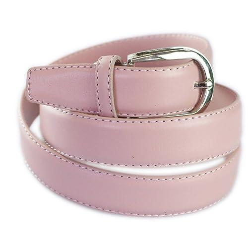 Fashiongen - Cintura di pelle 3 cm ROZEEN