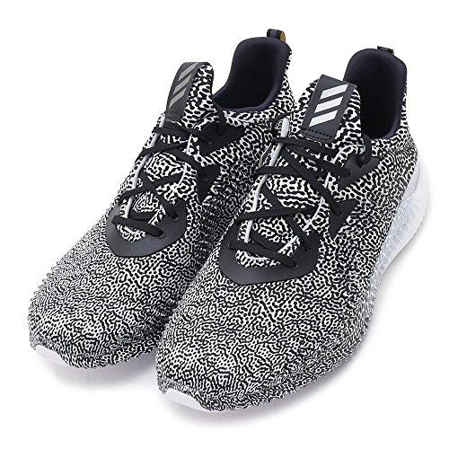Scarpa Da Running Adidas Uomo Alphabounce Aramis Nera / Ferro / Grigio