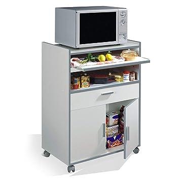 Carro de Estante genérico con cajón de Armario para Cocina ...