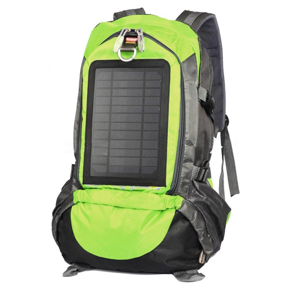 Camping Familie Solar angetriebene Rucksack mit 3,5 Watt Solar Panel