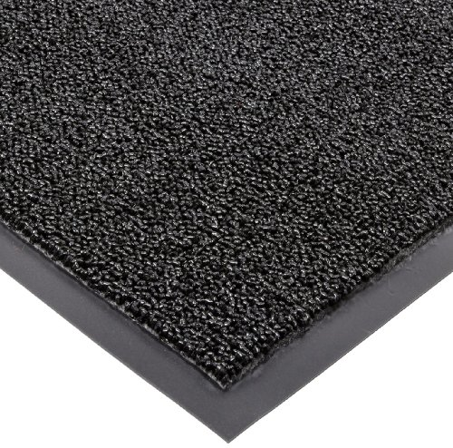 Notrax Non-Absorbent Fiber 231 Prelude Entrance Mat, for Outdoor and Heavy Traffic Areas, 4' Width x 8' Length x 1/4