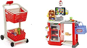 Little Tikes Shop 'n Learn Smart Cart and Smart Checkout - Bundle