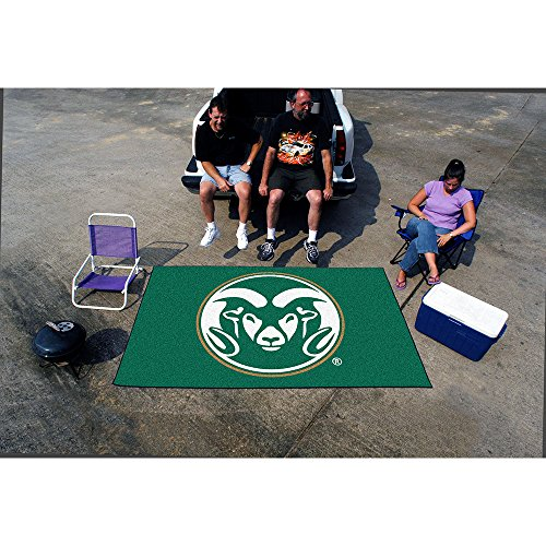 NCAA Novelty Starter Mat Size: 5' x 8', NCAA Team: Colorado State by Fanmats