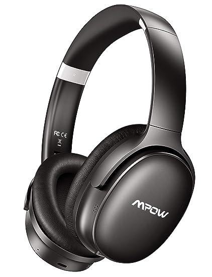 325bd87b869 Mpow H10 Dual-Mic Active Noise Canceling Headphones [2019 Edition]Bluetooth  Headphones Over Ear with Hi-Fi Deep Bass for PC/Phones: Amazon.ca:  Electronics