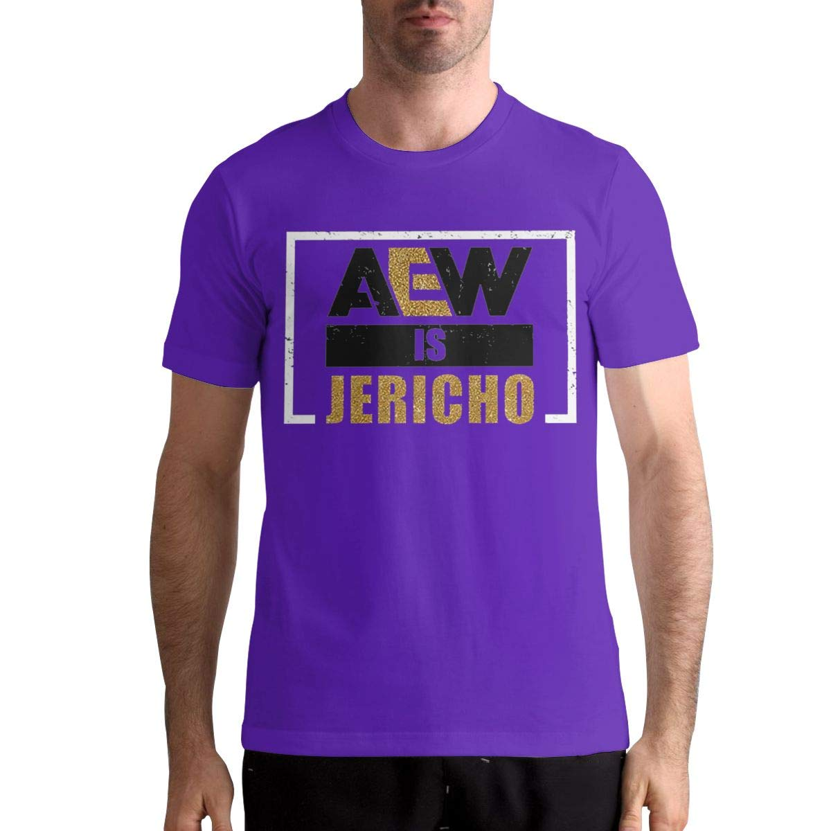 Thomlarryca Aew Is Jericho Classic Leisure T Shirts For Black