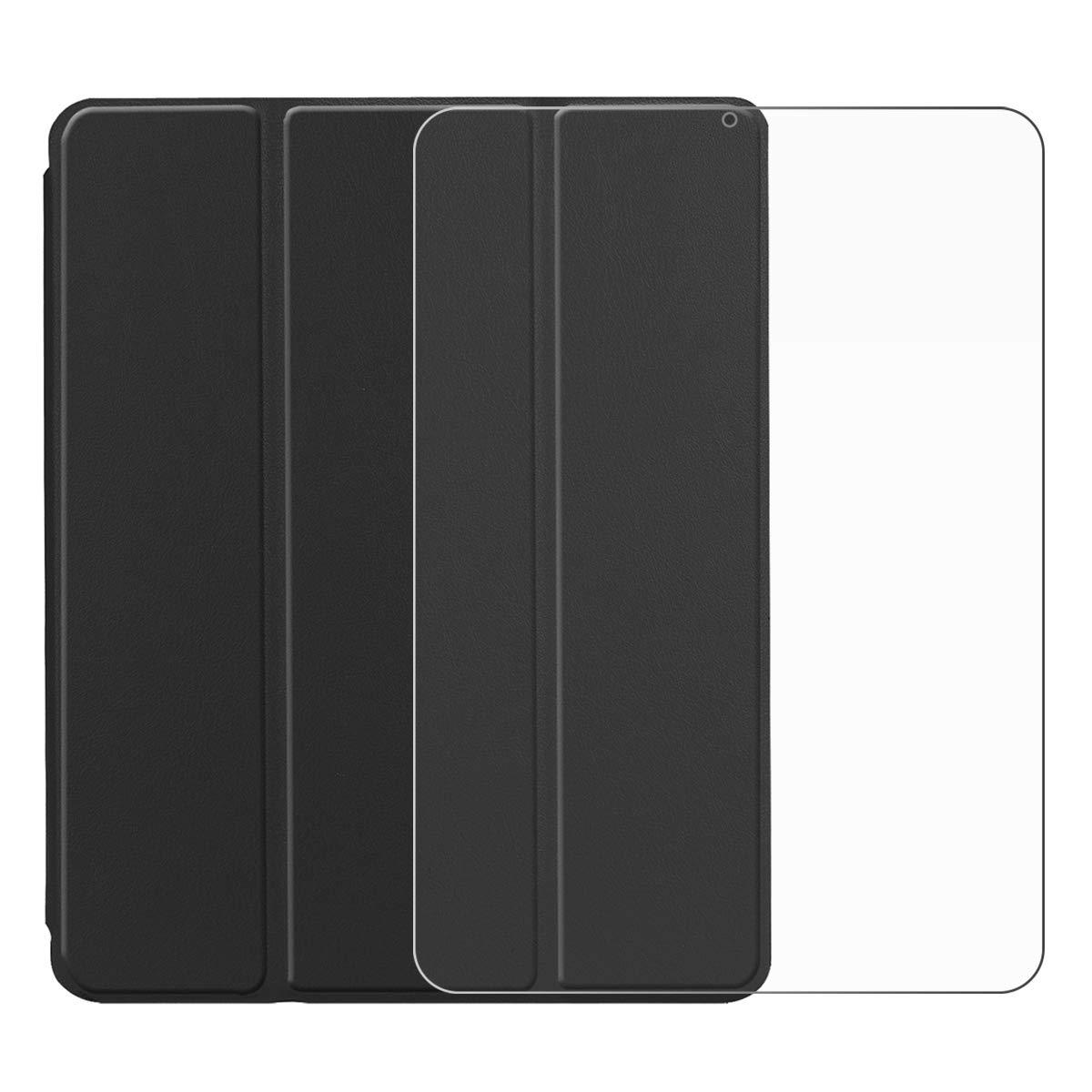 【楽ギフ_包装】 Torubia iPad Pro iPad 12.9インチ プレミアム 2018 PUレザー Pro ウォレットケース プレミアム iPad Pro 12.9インチ 2018 PUフリップカバー プレミアム バックケースケース(ブラック) B07KFVC65P, セクトインターナショナル:75e20a7f --- senas.4x4.lt