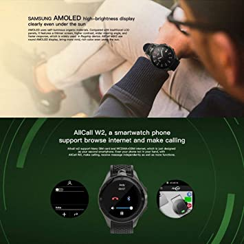 Bbiao Reloj inteligente Bluetooth Ip68 Impermeable Teléfono 3G 2Gb ...