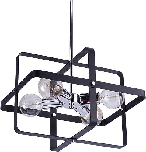 VILUXY Contemporary Geometric Pendant Light Fixture