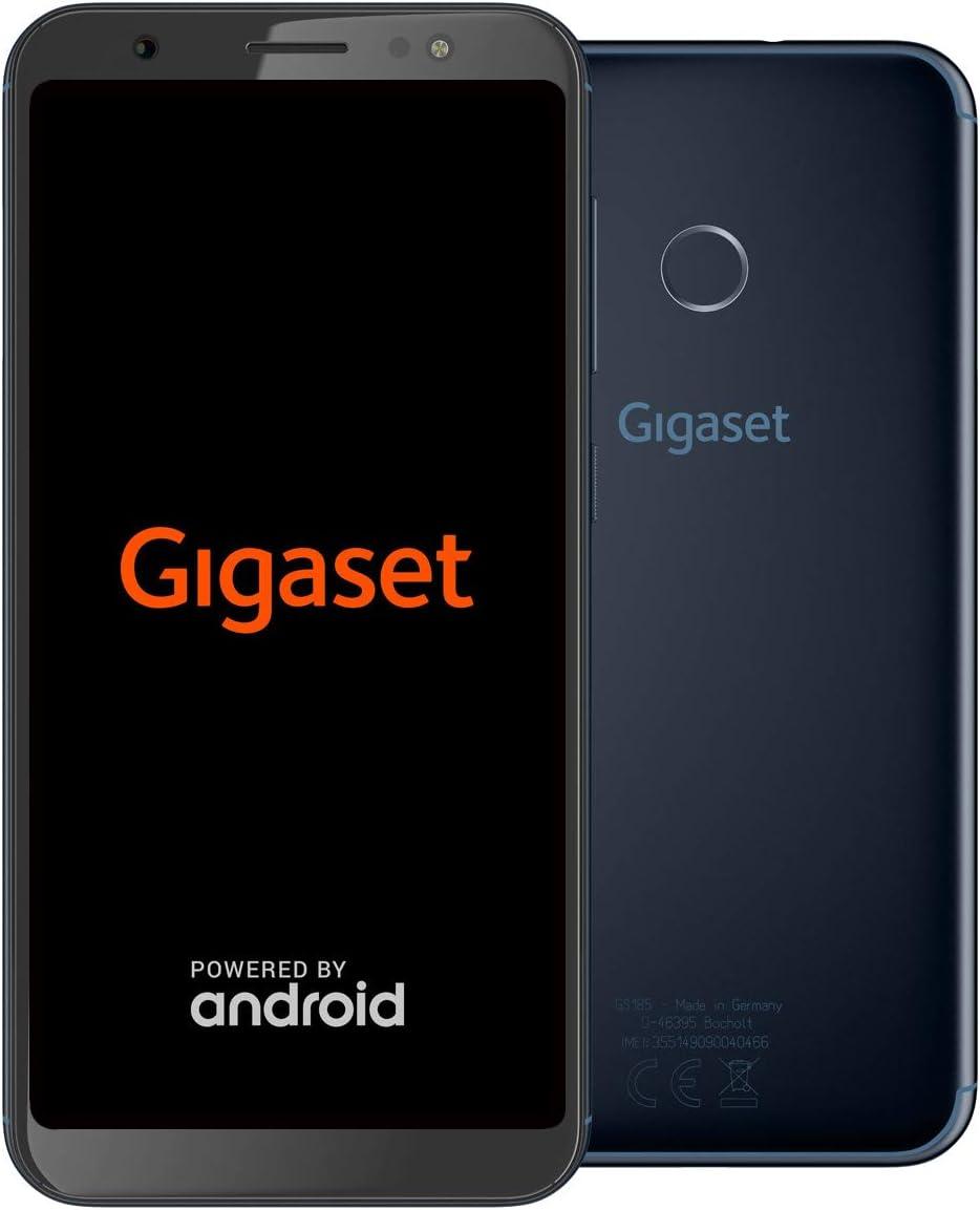 Gigaset Gs185 Smartphone Ohne Vertrag 5 5 Zoll Midnight Elektronik