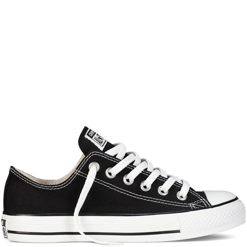 Converse Chuck Taylor All Star Core Ox B000KUDKO8 Men's 6, Women's 8 Medium|Black/White