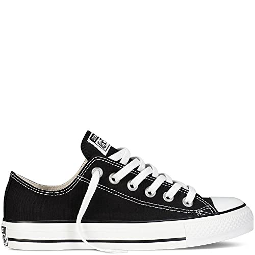 Converse Unisex Chuck Taylor All Star Low Ox Black Sneaker - 12 B(M)