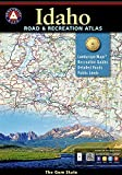 Idaho Benchmark Road & Recreation Atlas