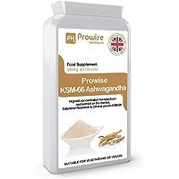 PH PROWISE Healthcare  KSM-66 Ashwagandha 500mg 90 Capsules   Certified Ashwagandha KSM-66 100% Natural Supplement   UK Made Ayurveda Formula