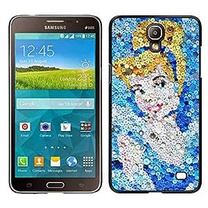EJOY---Cubierta de la caja de protección para la piel dura ** Samsung Galaxy Mega 2 ** --Cinder Arte del carácter de imagen de la historieta