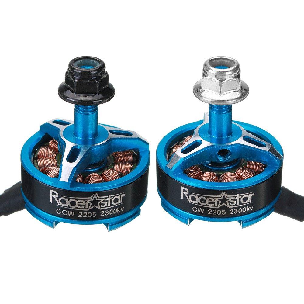 KINGDUO 5 Pcs Racerstar Sprog x 2205 2300Kv 3-4S Motor Sin Escobillas para Sprog Principiante RC Drone FPV Racing-Azul