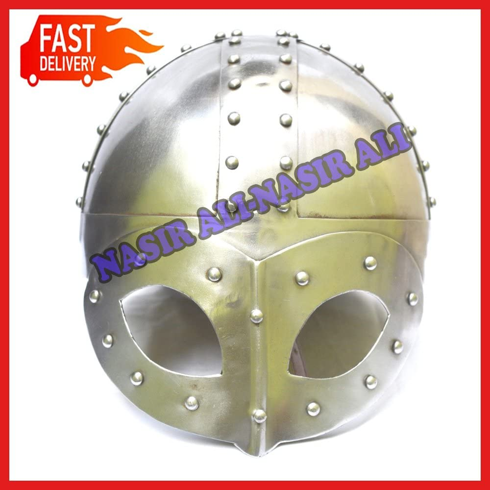 Medieval Viking Warrior Helmet Viking Helmet Viking Spectacle Helmet for sale