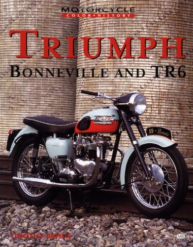 Download Triumph Bonneville & Tr6 (Motorcycle Color History) ebook