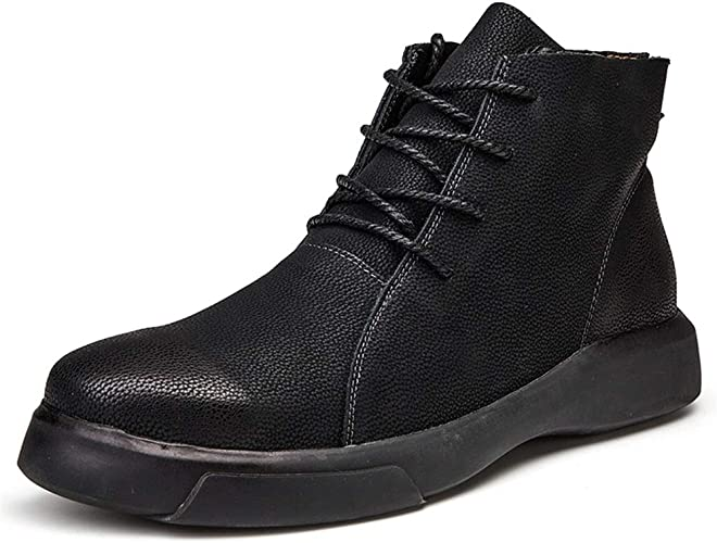 Mens Shoes Comfortable Men S Ankle Boots Casual Stylish And Comfortable Round Toe Faux Fleece Inside Outsole Leisure Shoes Conventional Optional Fashion Amazon Co Uk Shoes Bags