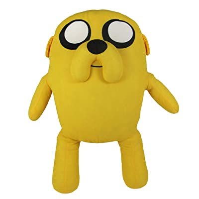 "Zoofy International Adventure Time 12"" Pull String Plush Jake: Toys & Games"