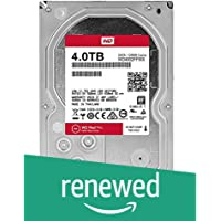 Western Digital Red Pro 4TB 3.5-Inch 7200rpm 64MB Cache NAS Hard Drive (WD4002FFWX) (Renewed)