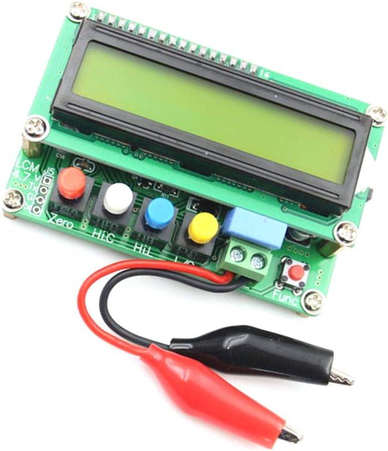 Lc100-a De Alta Precisión Medidor De Capacitancia Inductancia Digital Con Energía Por La Interfaz Usb Mini Verde