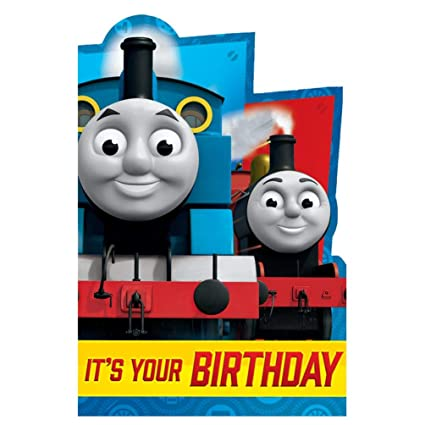 Thomas The Tank Its Your Birthday Card - Tarjeta de ...