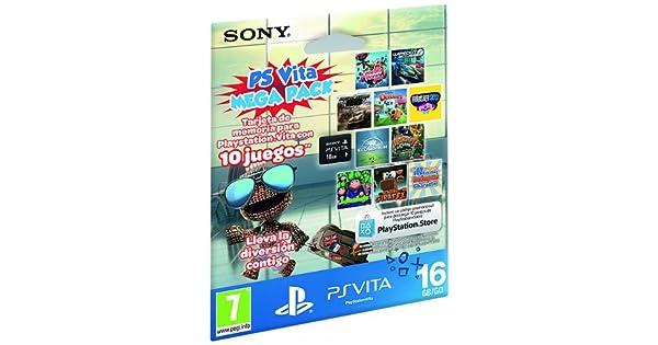 Sony - Tarjeta Memoria 16 GB + Megapack Kids (PS Vita ...
