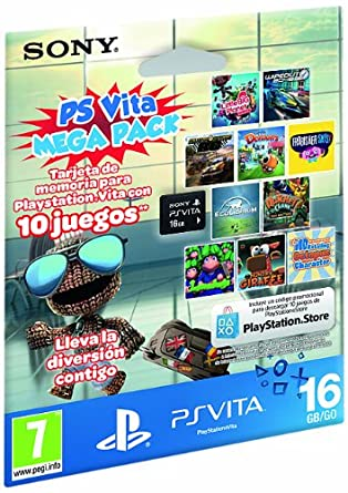 Sony - Tarjeta Memoria 16 GB + Megapack Kids (PS Vita): Amazon.es ...