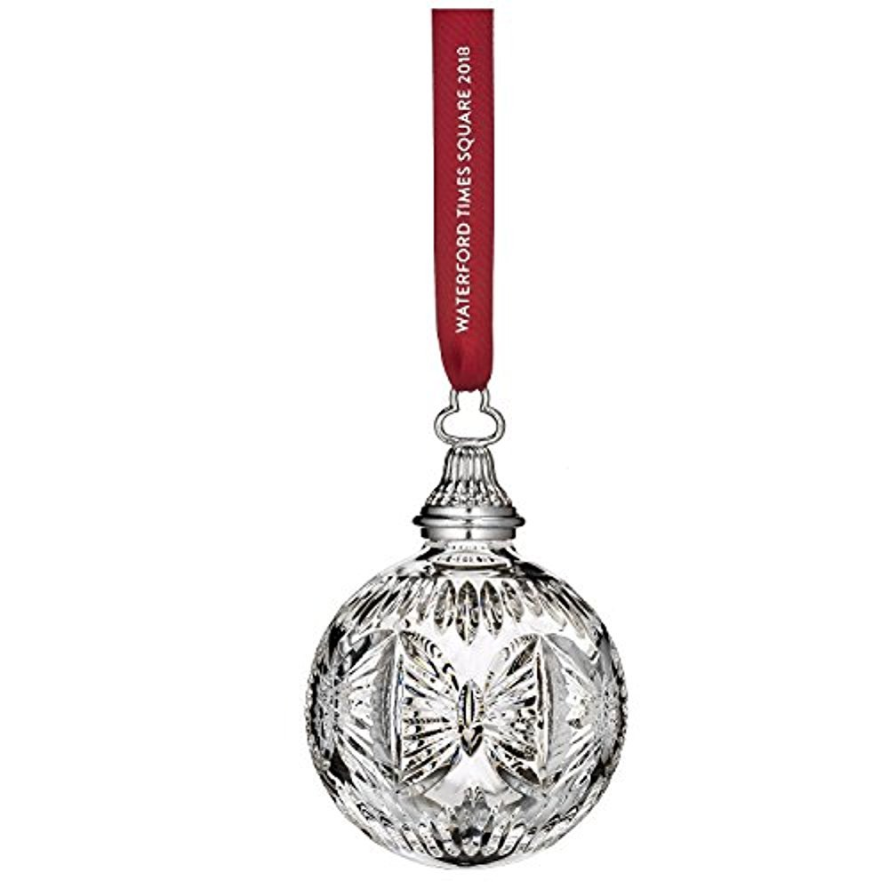 Amazon.com: Waterford Crystal 2018 Times Square Gift of Serenity ...