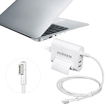 Aursen - Cargador Magsafe 1 de 60 W para Macbook Pro A1344 ...
