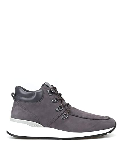 6825339f95e Tod's Ankle Boots in Nubuck Grigio Uomo: Amazon.co.uk: Shoes & Bags