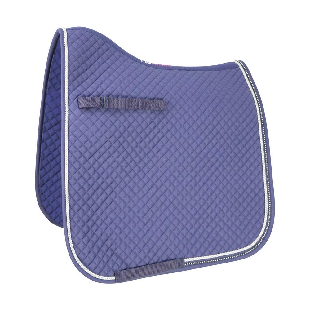 Ombre Grey UK Size  Cob Full Ombre Grey UK Size  Cob Full HyWITHER Diamond Touch Dressage Pad