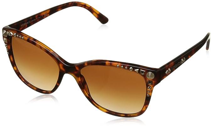 Versace VE4270 Studs 507413 Gafas de Sol, Havana, 56 para ...