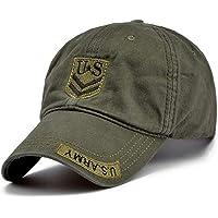 CGXBZA De Us Army Cap Camo para Hombre