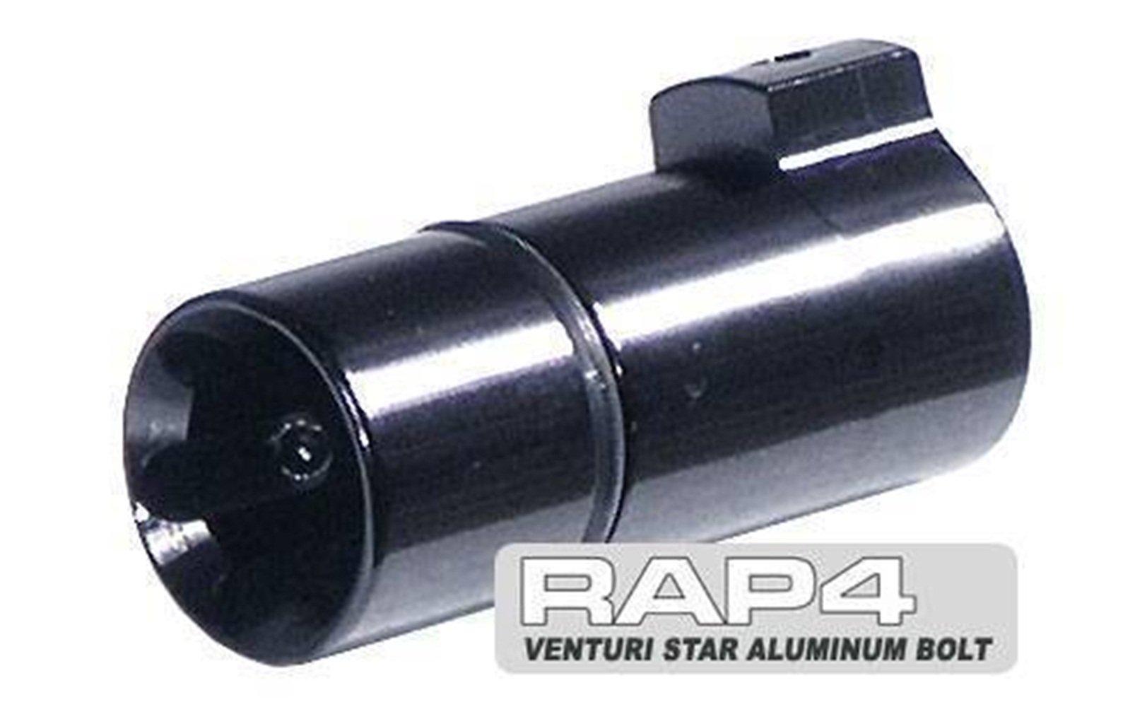 RAP4 Aluminum Venturi Star Bolt Upgrade Accessories for Tippmann A5 X7 M98 Alpha Black by Loader