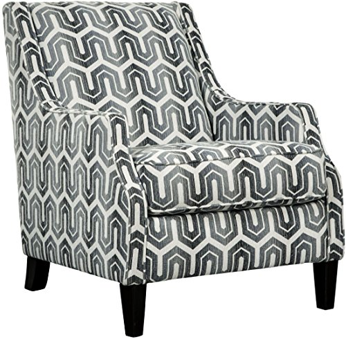 Ashley Furniture Signature Design - Gilmer Upholstered Accent Chair - Contemporary - Gunmetal -  Signature Design by Ashley, 6560321