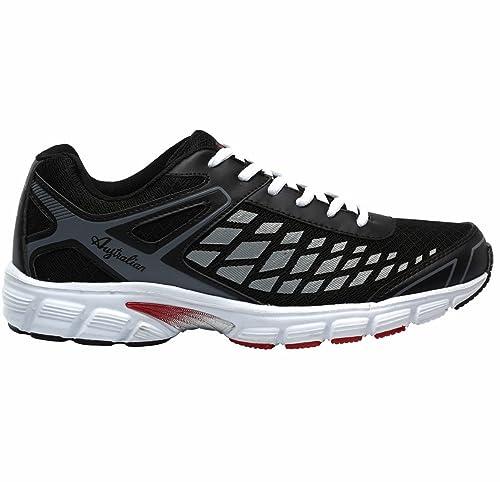 2a2f30fd5f Australian Scarpe Uomo Running Fitness Tempo libero articolo AU004 colore  02 nero (46)