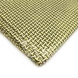 HXT 3K Carbon Fiber Aramid Fabric Cloth Sheet Woven 180g/m2 2000x500mm 6.5x1.5ft