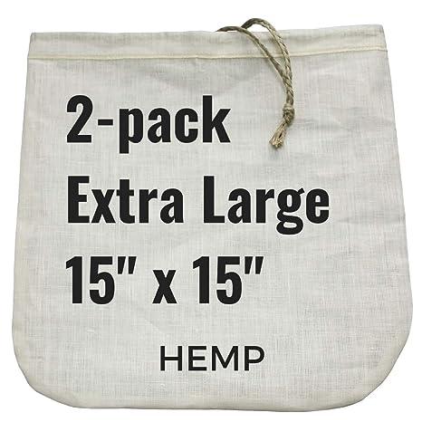 Amazon.com: 2 extragrande bolsas de leche de nuez – 15