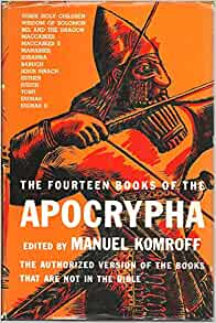 What are the 14 books of the apocrypha